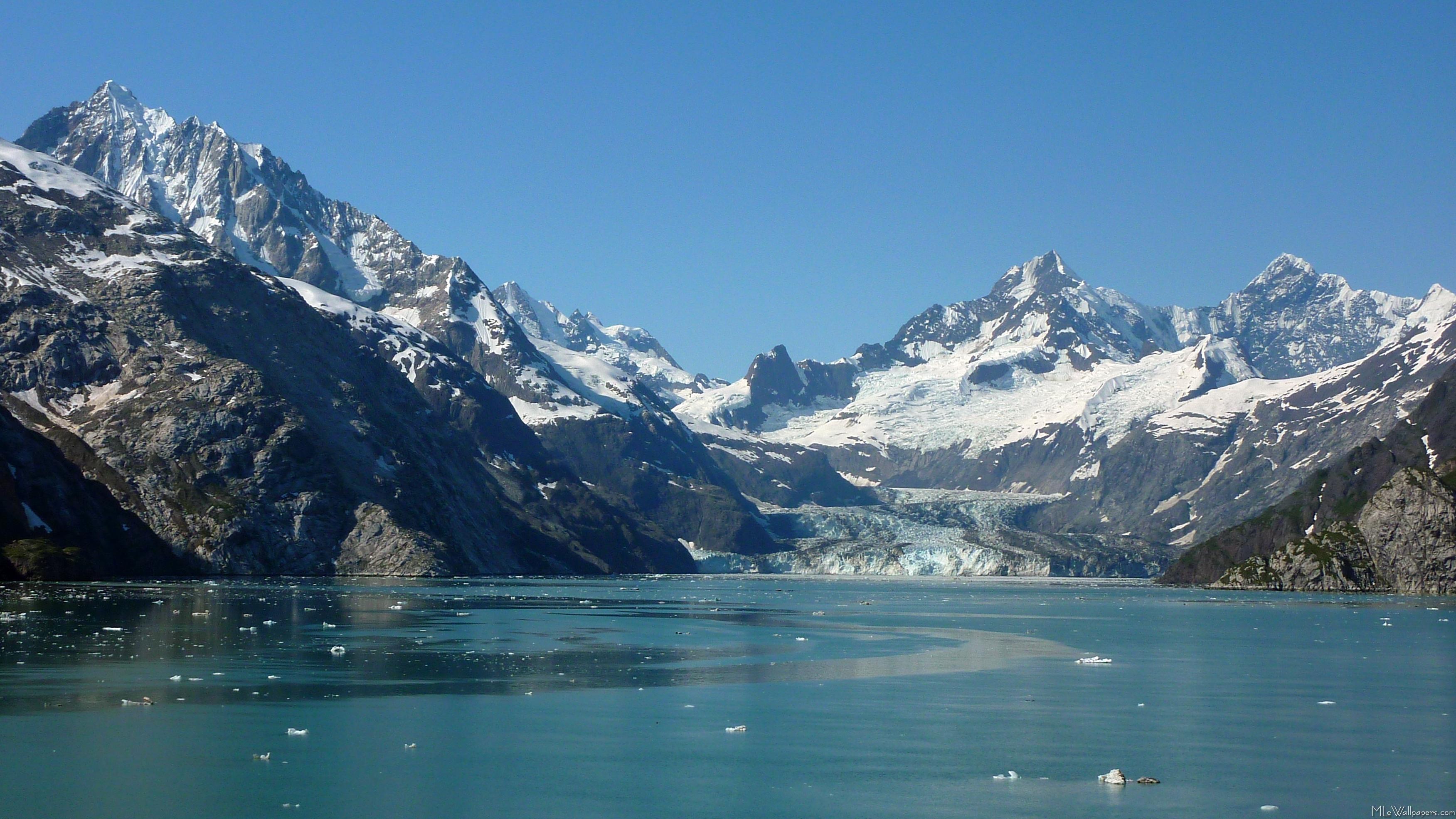 Mlewallpapers Com Glacier Fed Waters Of Alaska